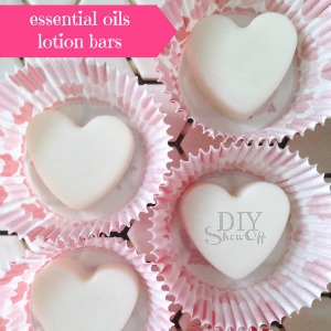 essential oils lotion bars @diyshowoff