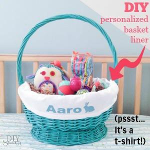 DIY basket liner tutorial @diyshowoff
