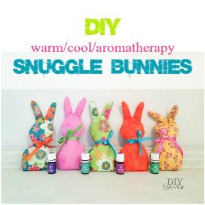 DIY warm cool aromatherapy snuggle bunnies @diyshowoff #essentialoils