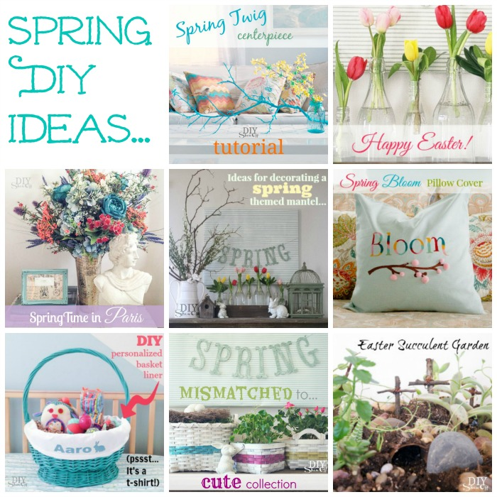 Spring DIY ideas @diyshowoff
