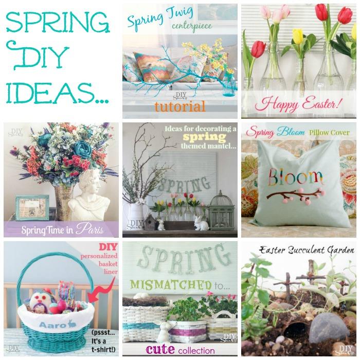 Spring DIY ideas @diyshowoff