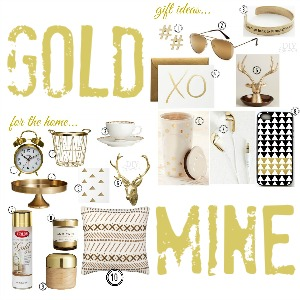 metallic gold @diyshowoff