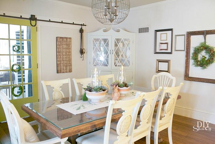 #loveyourhomechallenge @diyshowoff dining room