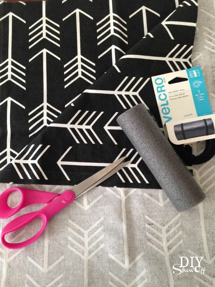 DIY {club foot} brace cover tutorial @diyshowoff