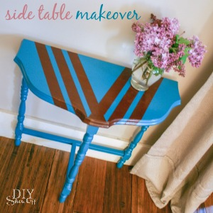 diyshowoff side table makeover