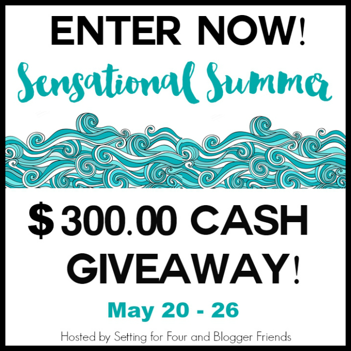 sensational summer blog hop, giveaway and link party @diyshowoff