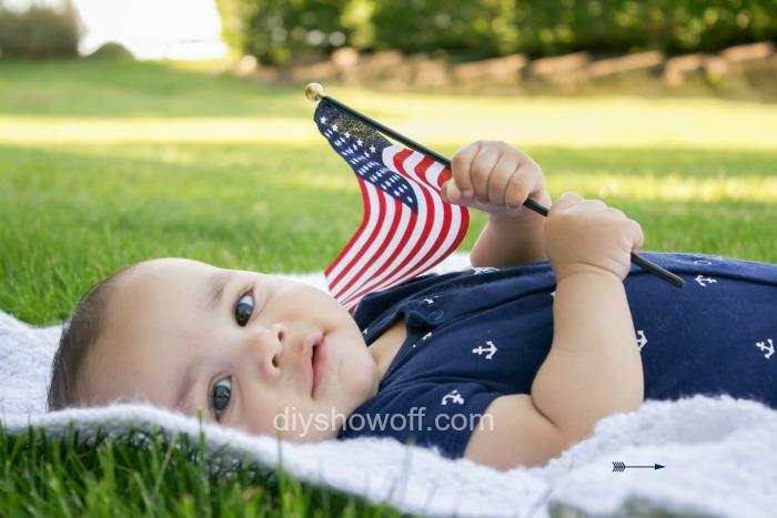 Memorial Day baby @diyshowoff