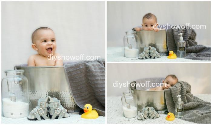 baby bath photos @diyshowoff