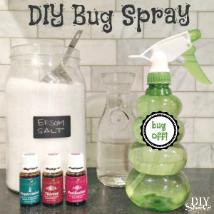 DIY bug spray recipe with Young Living essential oils @diyshowoff