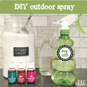 essential oils DIY outdoor spray recipe