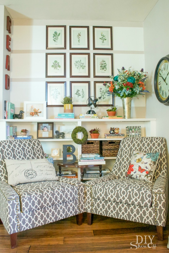 Diy decorating inspiration tips projects and Reading nook in living room