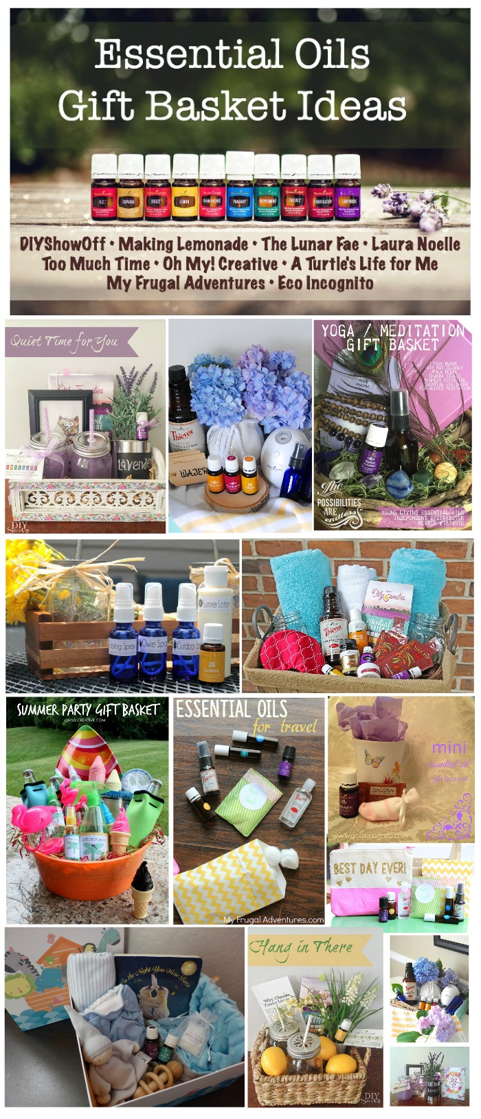 Essential Oils Gift Basket Blog Hop