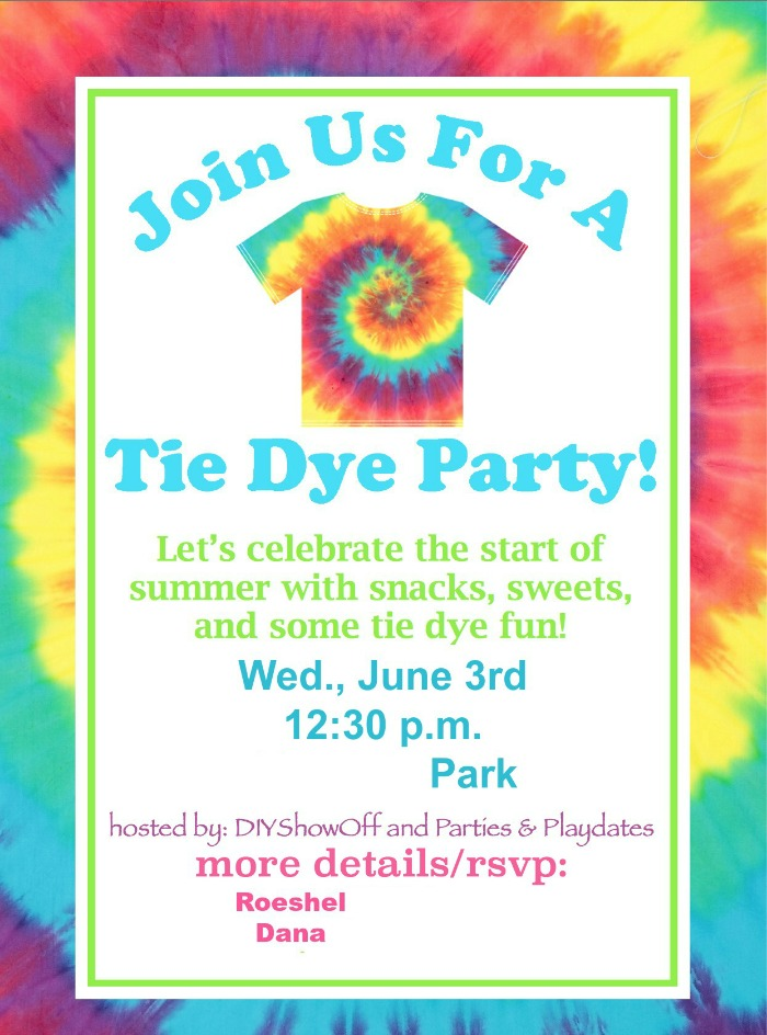 Tie Dye Party FunDIY Show Off ™ – DIY Decorating and Home ...