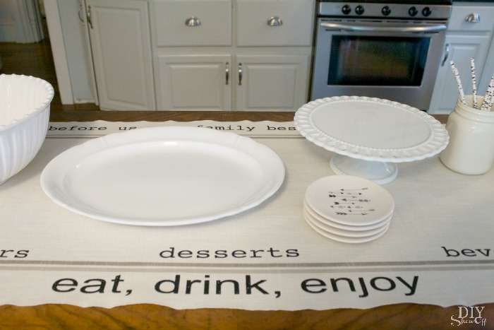 Snack Time Table Runnerdiy Show Off Diy Decorating And