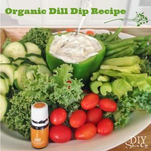 organic dill dip recipe @diyshowoff