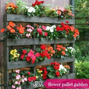 flower pallet garden tips @diyshowoff