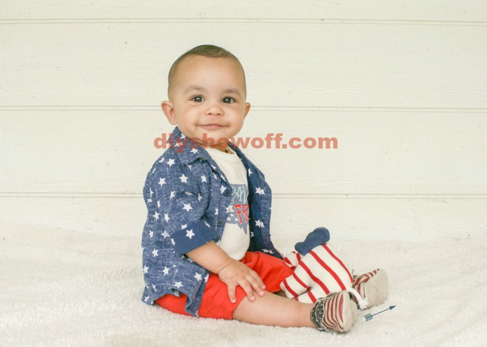 4th of July baby @diyshowoff