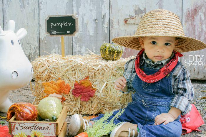 diy baby farmer costumediy show off diy decorating and