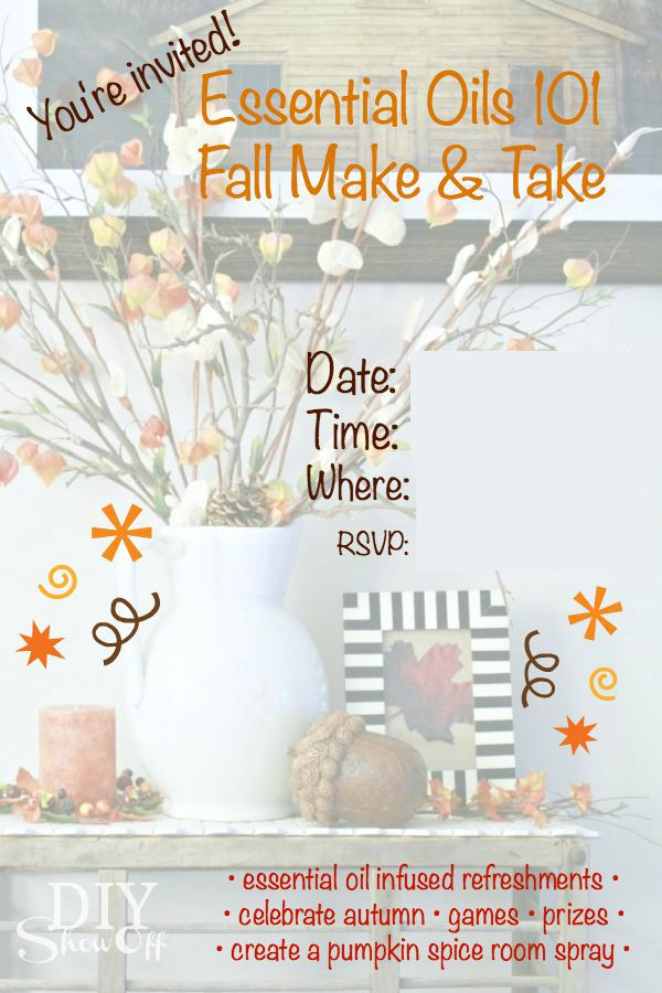 fall make & take @diyshowoff