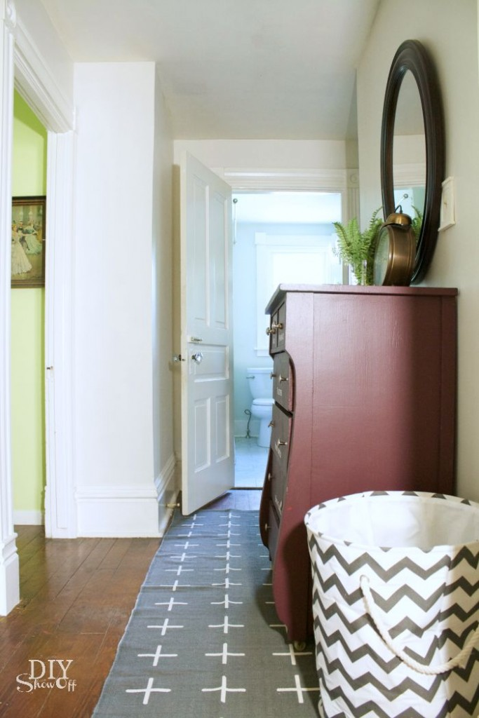 hallway refresh @diyshowoff #frogtape