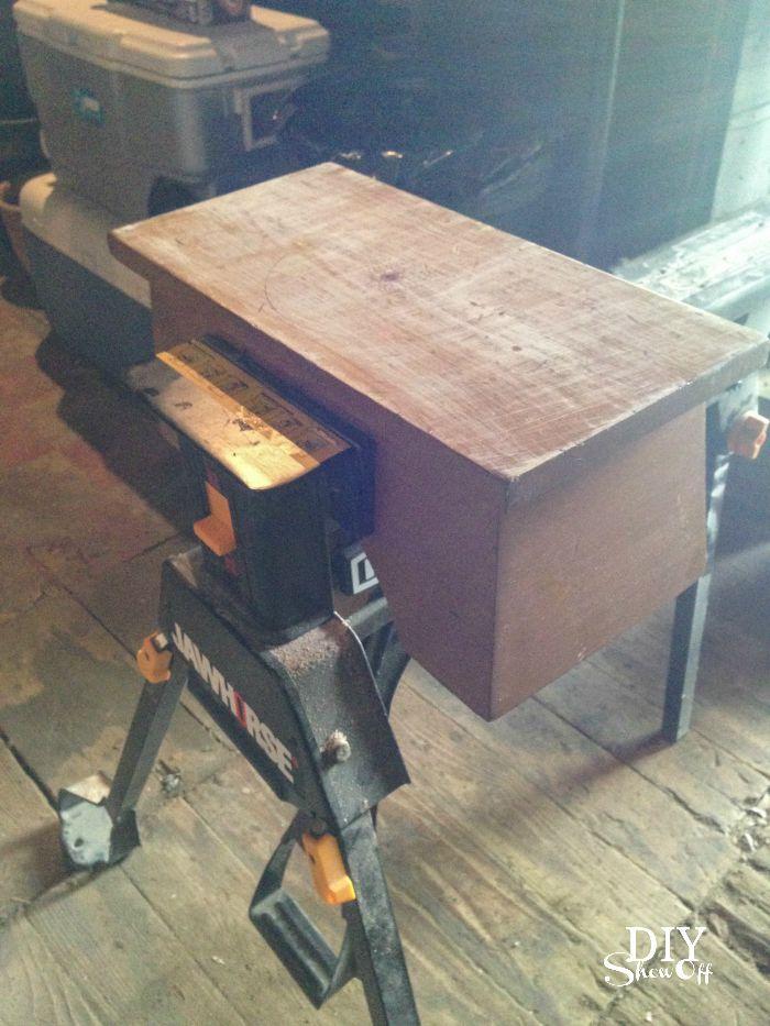flea market step stool makeover @diyshowoff