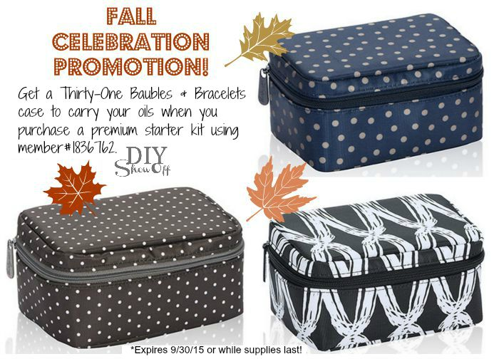 thirty one fall celebration promotion @diyshowoff