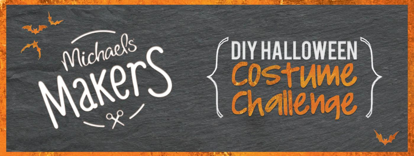 DIY Halloween Costume Challenge #michaelsmakers