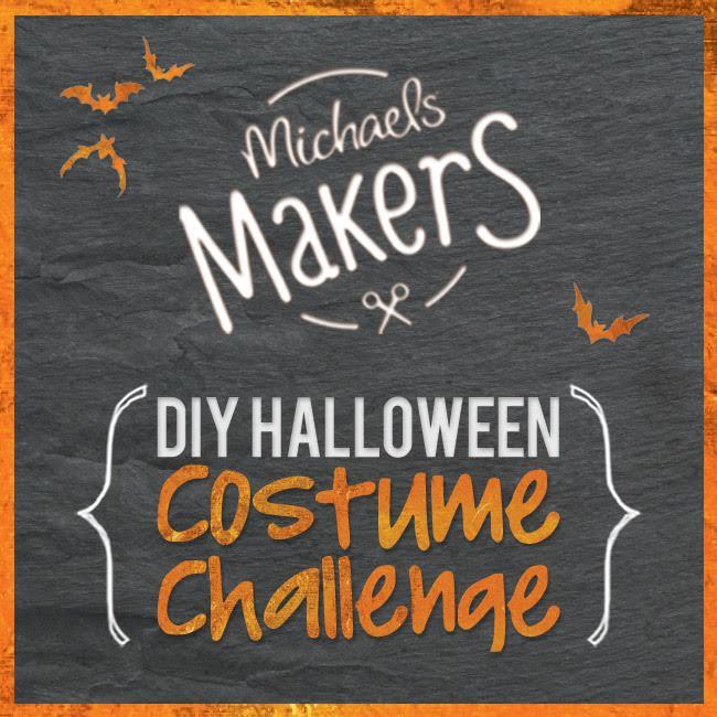 DIY Halloween Costume Challenge #michaelsmakers