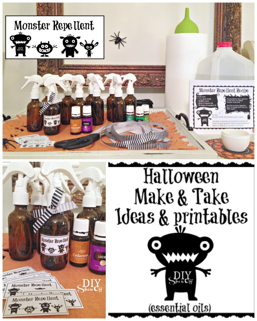 Halloween essential oils