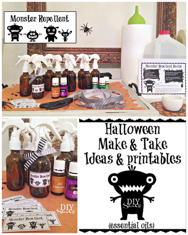 Halloween essential oils