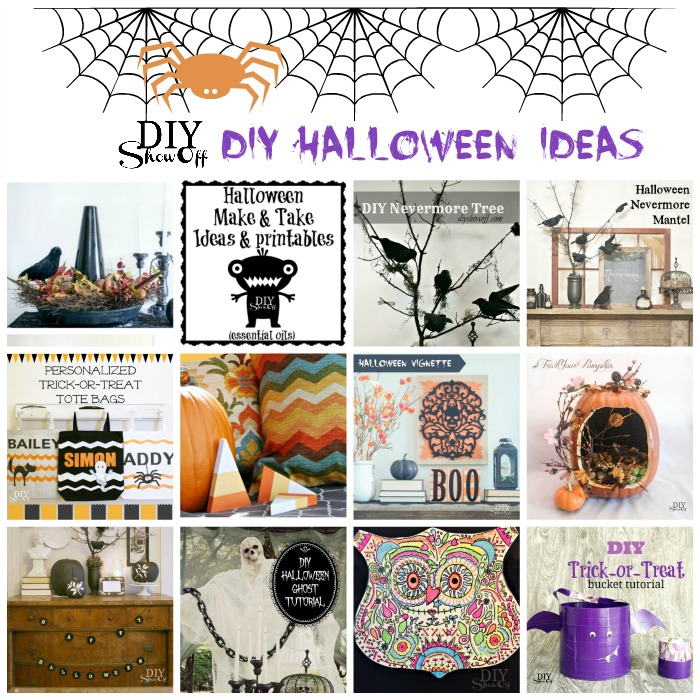 halloween DIY ideas @diyshowoff