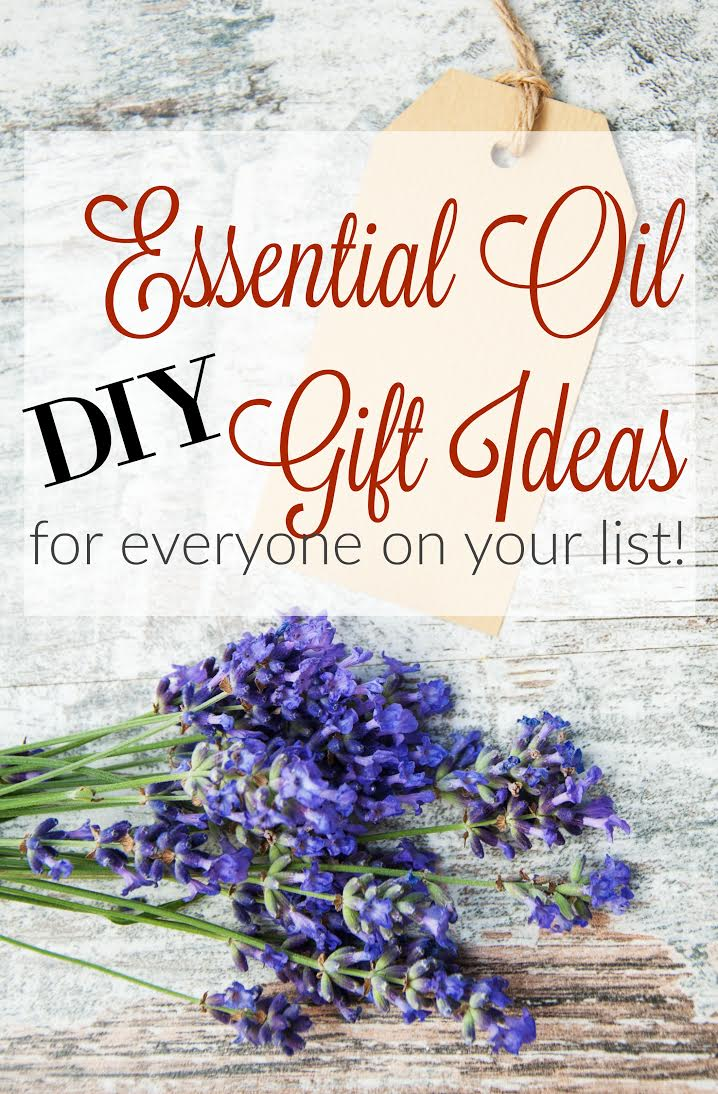 DIY essential oil Gift ideas @diyshowoff