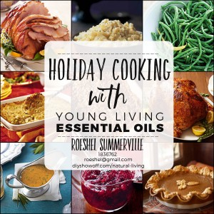 Holiday Cooking Recipes with Young Living Essential Oils