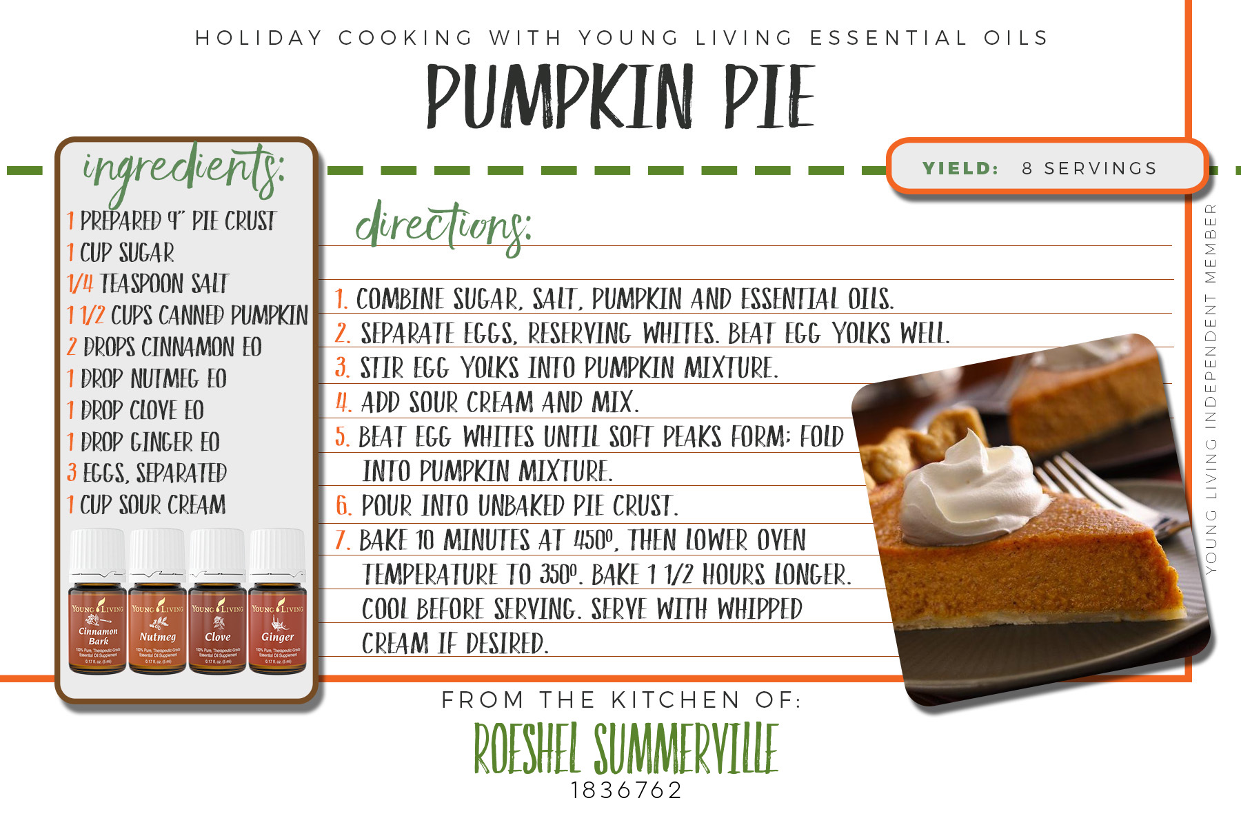 holiday cooking recipes with essential oils @diyshowoff