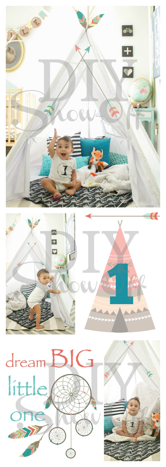 tribal first birthday photos @diyshowoff