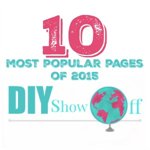 10 most popular DIY pages of 2015 @diyshowoff