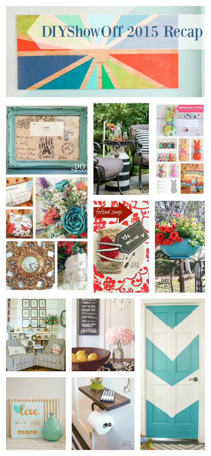 2015 DIY project recap @diyshowoff