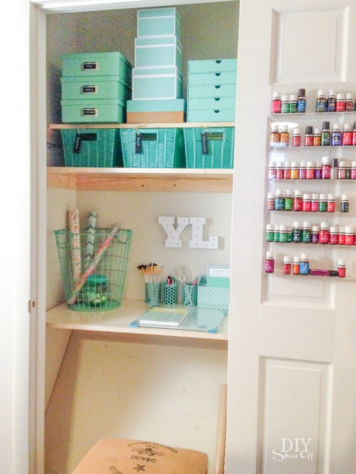 ... DIY Craft Organization Challenge Craft Closet #michaelsmakers  @diyshowoff