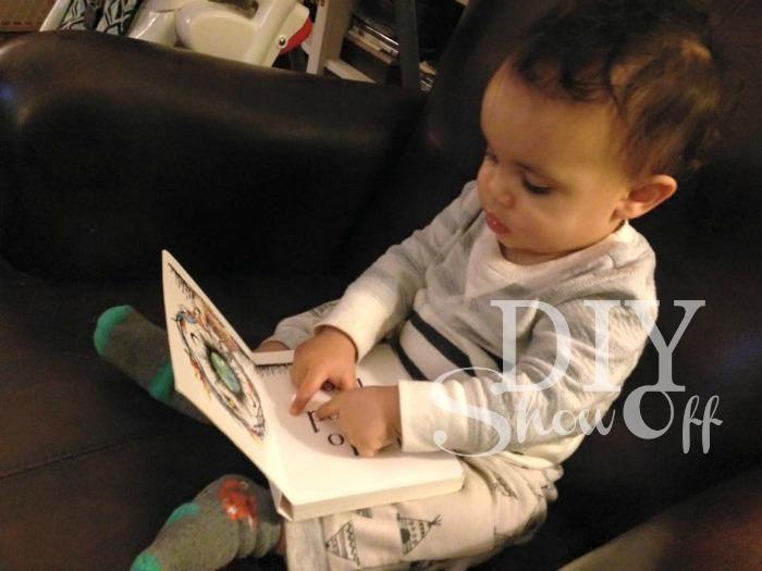 blogging baby @diyshowoff