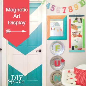 magnetic art display #michaelsmakers @diyshowoff