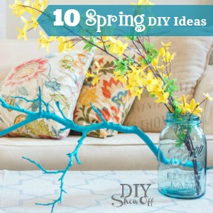 10 spring DIY ideas @diyshowoff