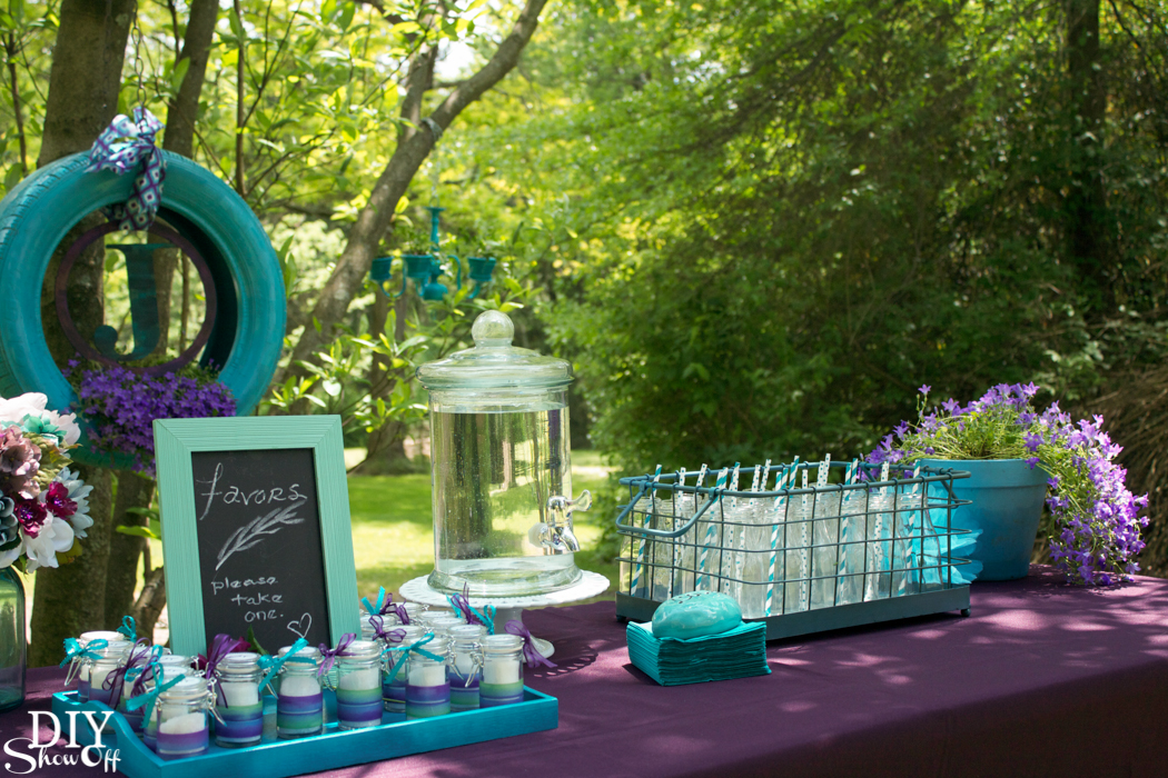 ... Pretty Backyard Wedding Ideas For Celebrating Your Special Day Outdoors  @diyshowoff #michaelsmakers ...