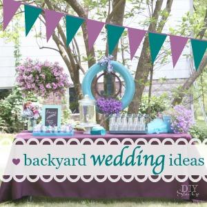 Backyard Wedding Ideas Diy Show Off Diy Decorating And Home