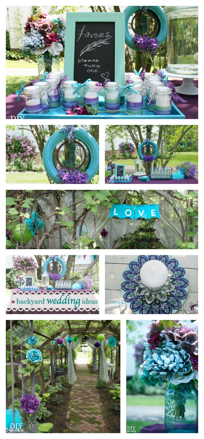 backyard wedding ideas diy show off diy decorating and home
