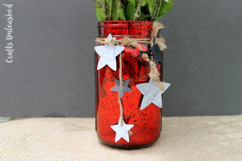 patriotic mason jar