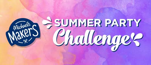 Looking for summer entertaining ideas? Check out the #michaelsmakers summer party challenge @diyshowoff