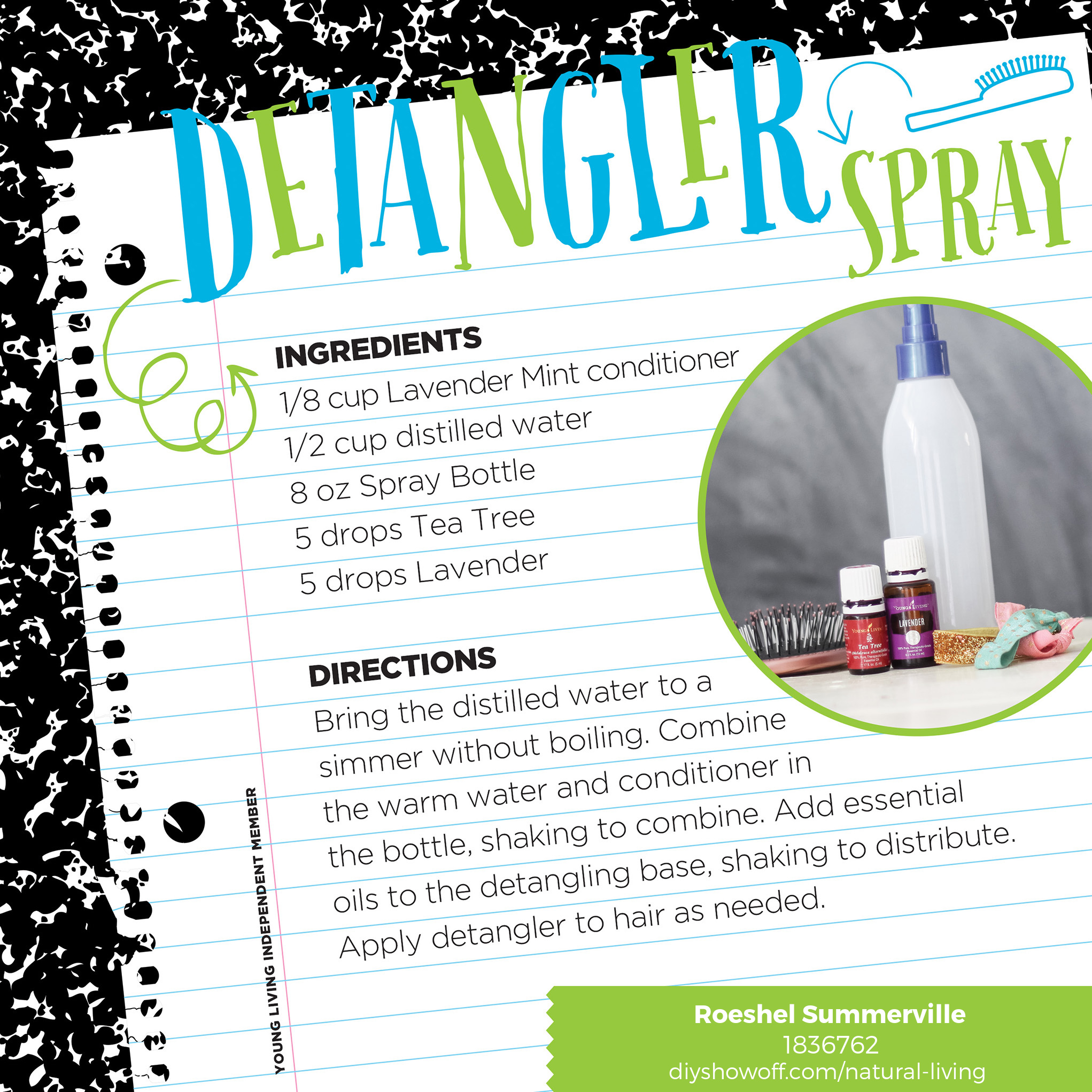 back to school with essential oils @diyshowoff