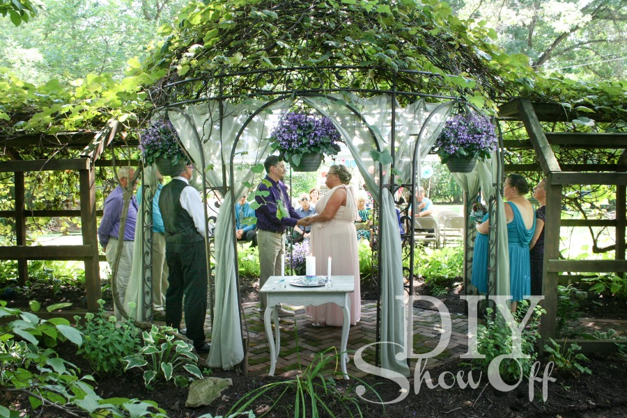 wedding gazebo @diyshowoff