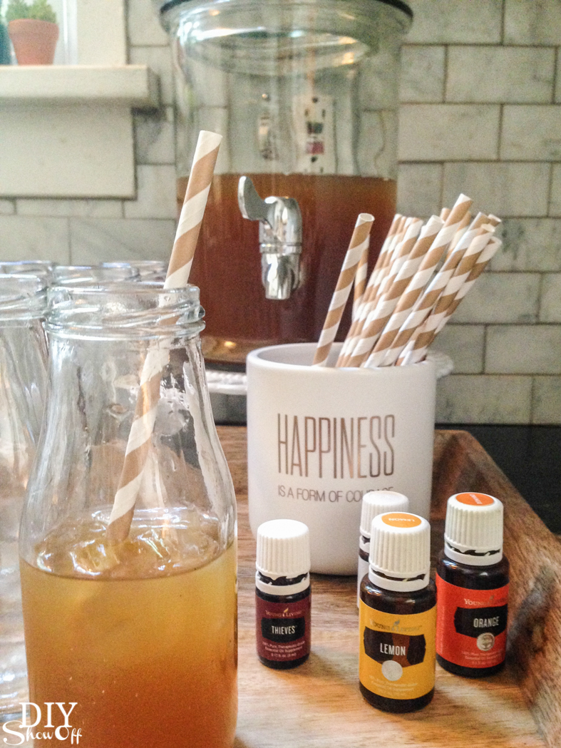 fall decor inspiration @diyshowoff #essentialoils