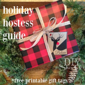 diyshowoff holiday hostess guide